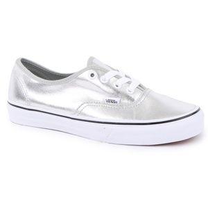 Silver Metallic Vans